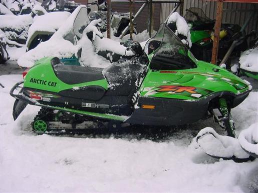 Arctic Cat Snowmobiles For Sale. 2001 Arctic Cat ZR 600 EFI
