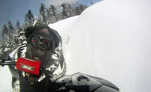 snowmobile hillclimb