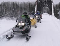 Snowmobiling in Ontario