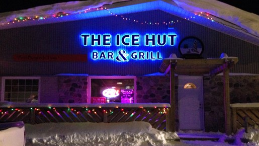 Riding The North Ice Hut Bar Grill