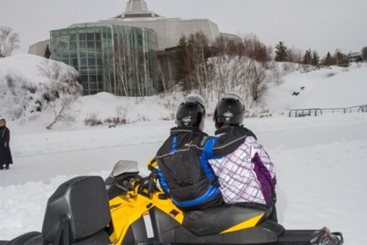science north snowmobile access