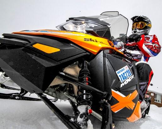 Trailer Safety Snowmobile