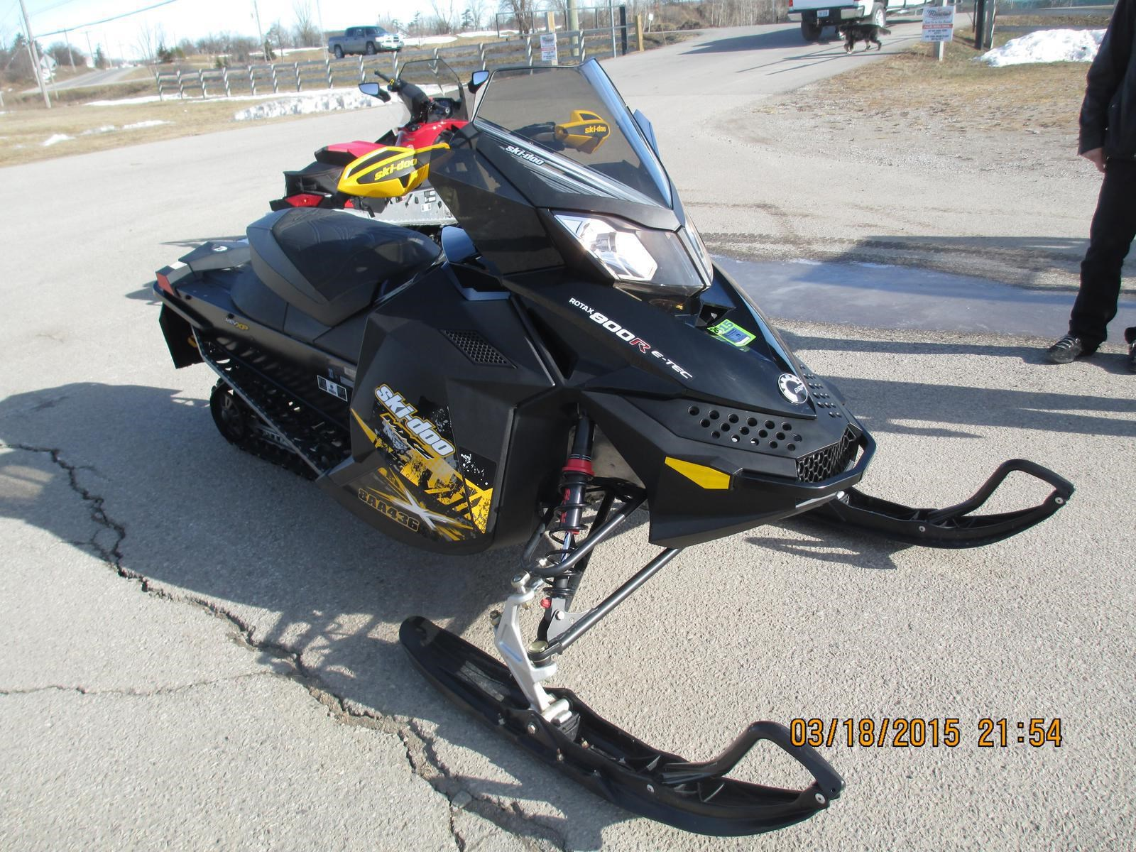 Used ski doo snowmobiles bing images for Used yamaha snowmobiles for sale in wisconsin