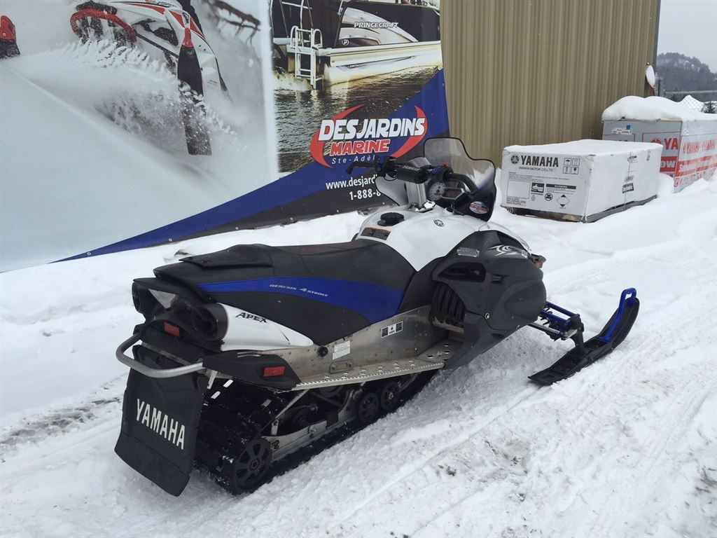 Yamaha apex 2010 used snowmobile for sale in sainte ad le for Used yamaha apex for sale