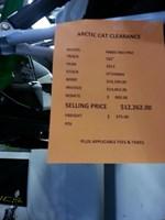 ARCTIC CAT M800 SNO PRO 162 2013