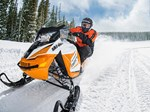 Ski-Doo Renegade® Adrenaline ROTAX® 900 ACE White & Orange 2017