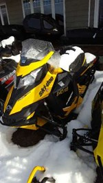Ski-Doo MX Z  X E-TEC 800R 2013