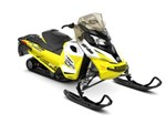 Ski-Doo MXZ® TNT® ROTAX® 900 ACE White & Sunburst Yellow R 2017