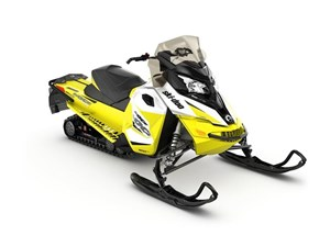 2017 Ski-Doo MXZ TNT 600 H.O. E-TEC White / Sunburst Yellow Photo 1 of 1