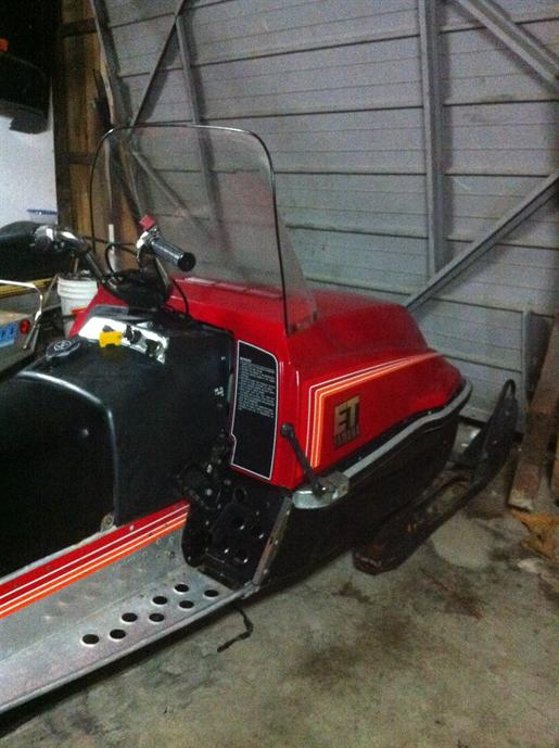 Yamaha Enticer Longtrack 1982 Used Snowmobile For Sale In Clinton Ontario