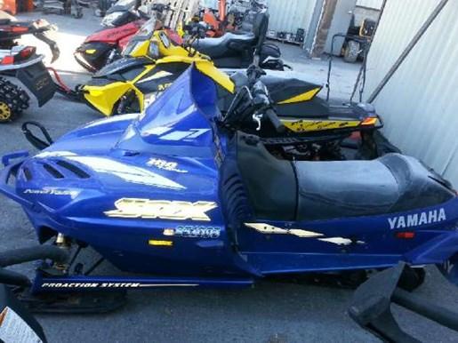 2000 Yamaha SRX 700 with Ohlins Photo 3 of 5