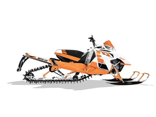 2017 Arctic Cat M 8000 Sno Pro ES 153 Orange Photo 2 of 2