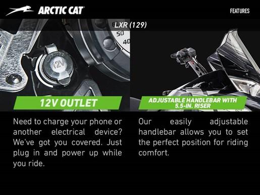 2017 Arctic Cat ZR 3000 LXR (129) Photo 2 of 4