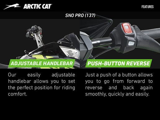 2017 Arctic Cat ZR 7000 Sno Pro (137) Photo 4 of 5