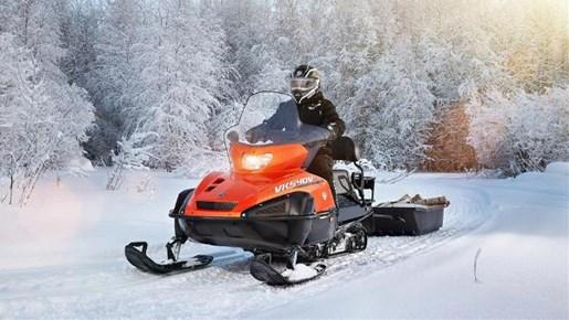 Yamaha vk 540 vivid orange metallic 2017 new snowmobile for New yamaha snowmobile