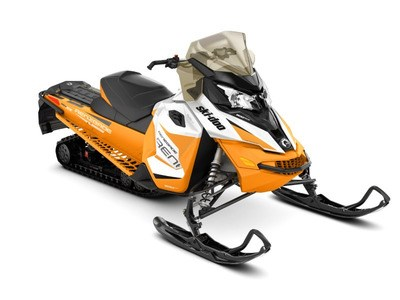 2017 Ski-Doo Renegade® Adrenaline ROTAX® 900 ACE White & Orange Photo 1 of 1