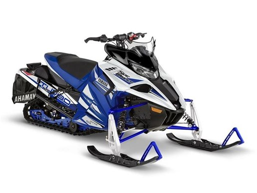 2018 Yamaha Sidewinder R-TX SE Racing Blue / White Photo 1 of 1