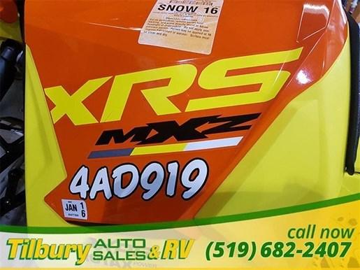 2015 Ski-Doo MXZ X 800 R Photo 8 of 10