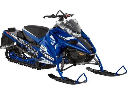 2017 Yamaha Sidewinder X-TX LE 141 Yamaha Blue Photo 1 of 1