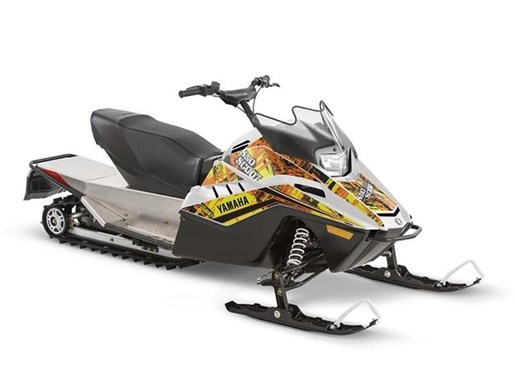 2018 Yamaha SnoScoot Flashy White Photo 1 of 1