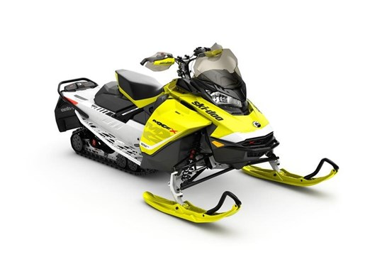 2017 Ski-Doo MXZ  X 850 E-TEC Sunburst Yellow Photo 5 of 5