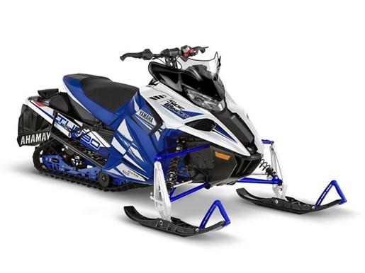 2018 Yamaha Sidewinder R-TX SE Racing Blue / White Photo 1 of 1