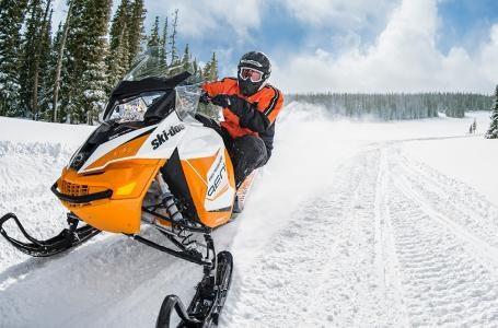 2018 Ski-Doo Renegade® Adrenaline 600 H.O. E-TEC® -Orange Crush Photo 2 of 2