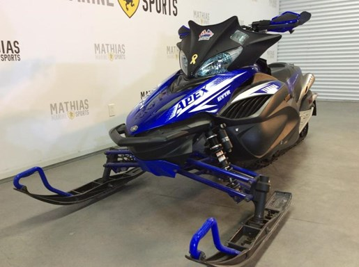 Yamaha rx1 apex 2009 used snowmobile for sale in st for Used yamaha apex for sale