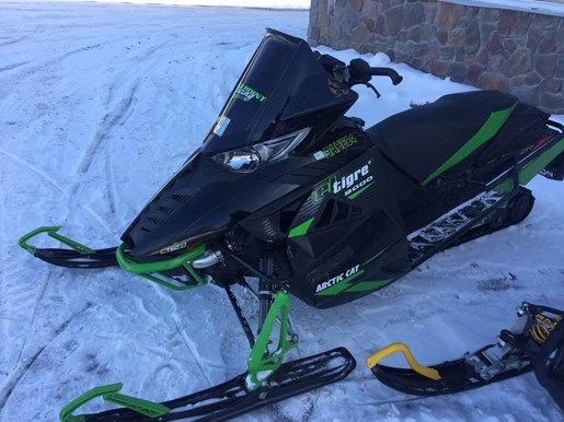 2015 Arctic Cat ZR 9000 El Tigre Photo 1 of 1