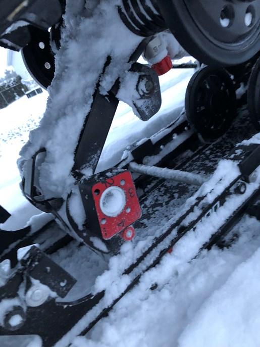 2015 Ski-Doo Renegade Backcountry X 800 + Triton Trailer Photo 8 of 13