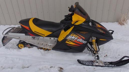 Ski Doo Mxz Sport 600 2003 Used Snowmobile For Sale In Erskine