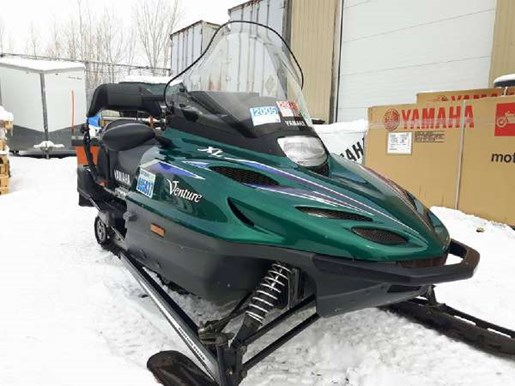 Yamaha venture 500 xl 1999 used snowmobile for sale in for 500 yamaha snowmobile