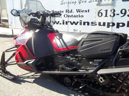 2016 Yamaha SRViper S-TX 137 DX Photo 2 of 2