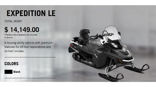 2018 Ski-Doo 1 LEFT EXPEDITION LE 900 ACE Photo 2 of 13