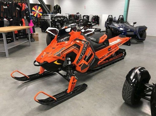 2018 Polaris 800 PRO RMK 163 SNOWCHECK / 36$/sem Photo 12 of 19