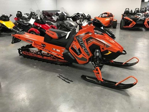 2018 Polaris 800 PRO RMK 163 SNOWCHECK / 40$/sem Photo 2 of 18