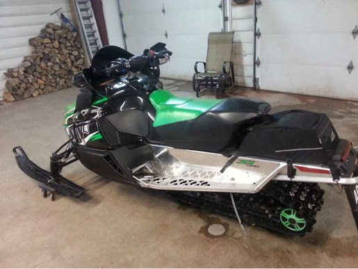 2011 Arctic Cat Z1 Turbo Sno Pro® Photo 4 of 5
