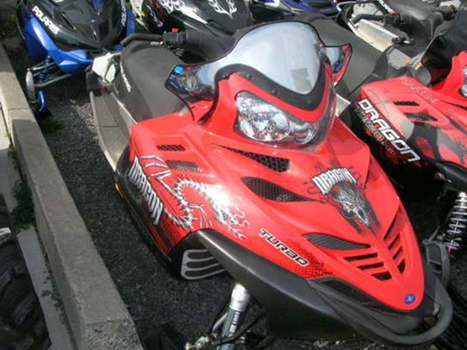 2008 Polaris IQ 700 Dragon Photo 1 of 1