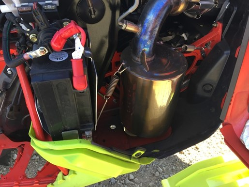 2016 Ski-Doo Summit® X® with T3 Package Rotax 800R E- Photo 4 of 4