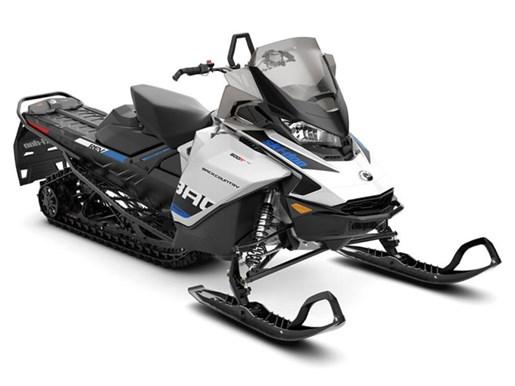 2019 Ski-Doo Backcountry™ Rotax® 600R E-Tec® White & Photo 1 of 1