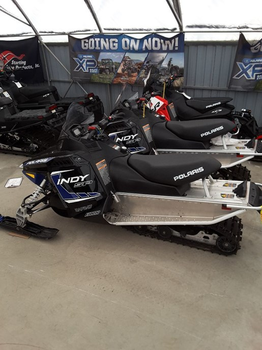 2018 Polaris 600 INDY SP ES Photo 3 of 4