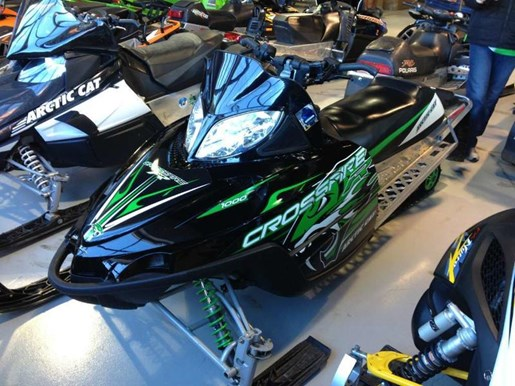 Arctic Cat Crossfire R 1000 Us 2009 Used Snowmobile For Sale In