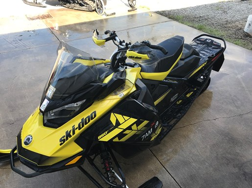 2018 Ski-Doo MXZ X 850 E-TEC Photo 3 of 6