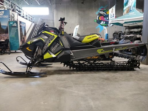 2018 Polaris Pro RMK 800 (163) Photo 3 of 8