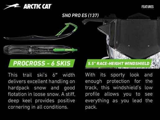 2017 Arctic Cat ZR 8000 Sno Pro ES (137) Photo 4 of 4