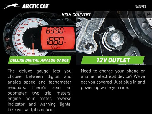 2017 Arctic Cat XF 8000 High Country Photo 4 of 4
