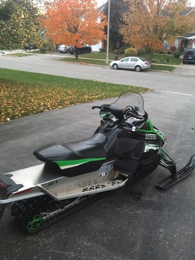 2010 Arctic Cat Z1 Photo 5 of 6