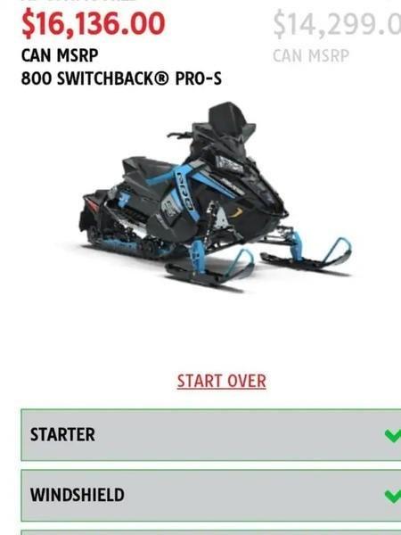 2019 Polaris 800 Switchback PRO-S Photo 2 of 5