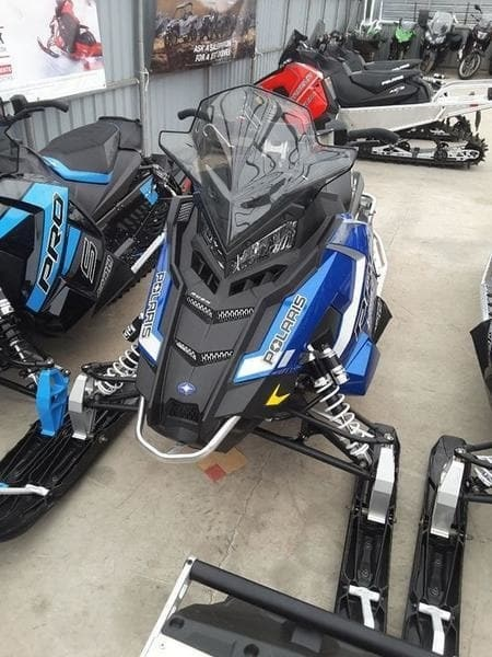 2018 Polaris RUSH PRO-S 600 ES Photo 2 of 4