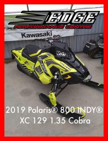 2019 Polaris 800 INDY XC 129 1.35 Cobra Photo 1 of 5